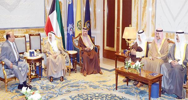 القمة الكويتية ــ اليمنية: دعم الشرعية لتعزيز استقرار صنعاء