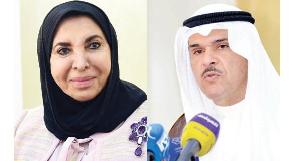 سلمان الحمود في افتتاح مسرح سعاد الصباح: رابطة الأدباء قلعة للمبدعين
