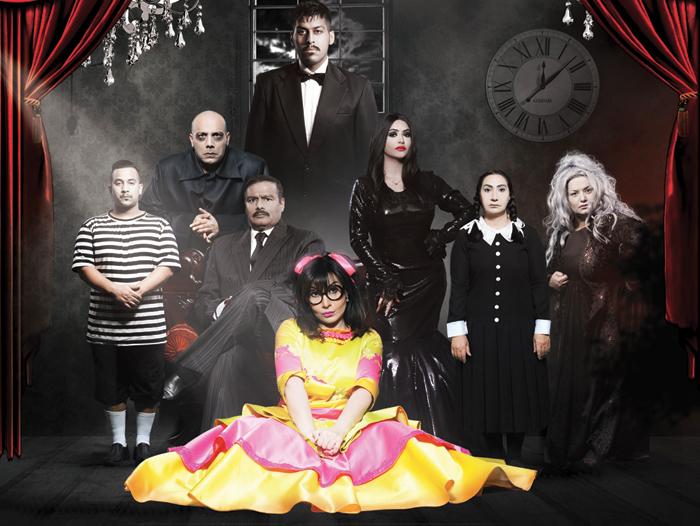 مع أسرة مسرحية «عائلة آدم»