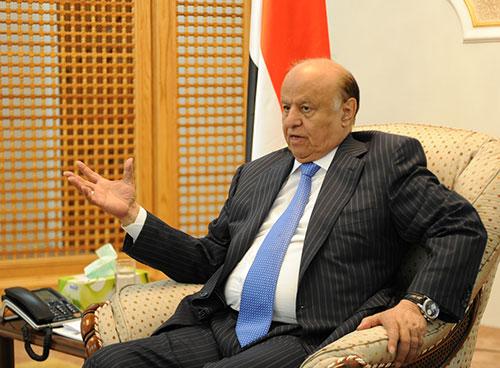 الرئيس اليمني: احتلال المليشيات للبرلمان يقوّض الانتقال السياسي