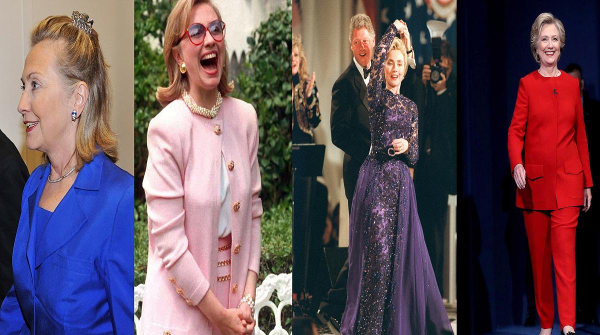 بالصور - أفضل وأسوأ وأغرب أزياء «هيلاري كلينتون»
