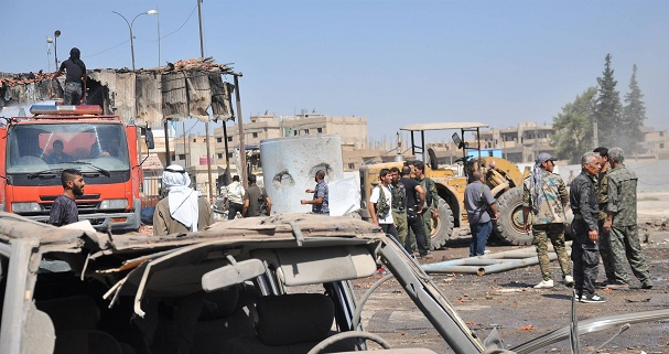 قتلى في تفجيرين أحدهما انتحاري في حماة بوسط سوريا