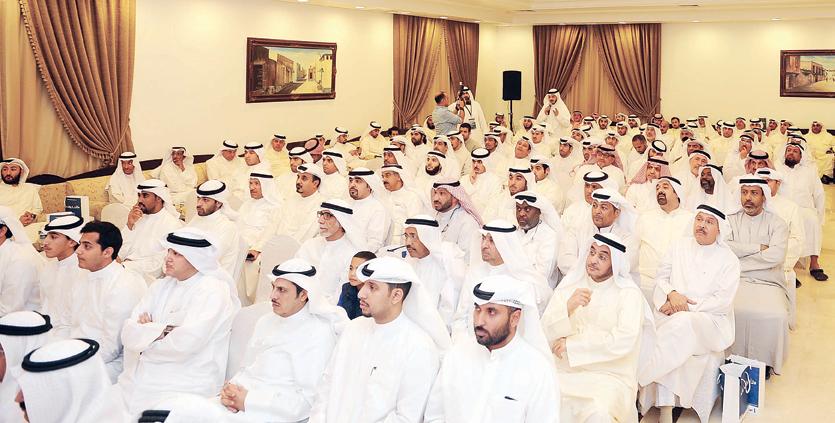 جانب من حضور افتتاح مقر الكليب تصوير محمد خلف