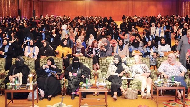 جانب من الحضور تصوير محمود الفوريكي