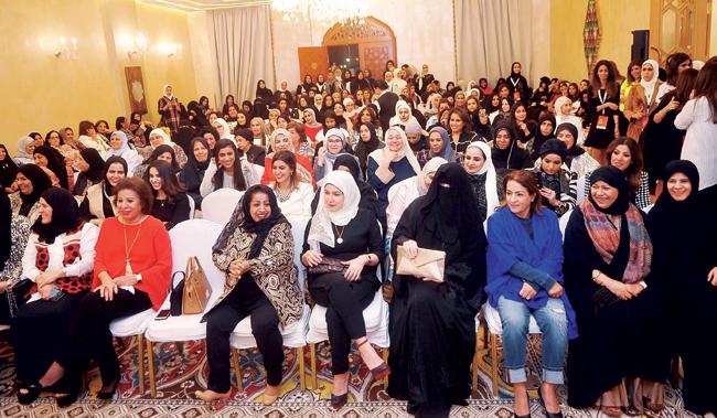 جانب من الحضور - (تصوير عبدالصمد مصطفى)