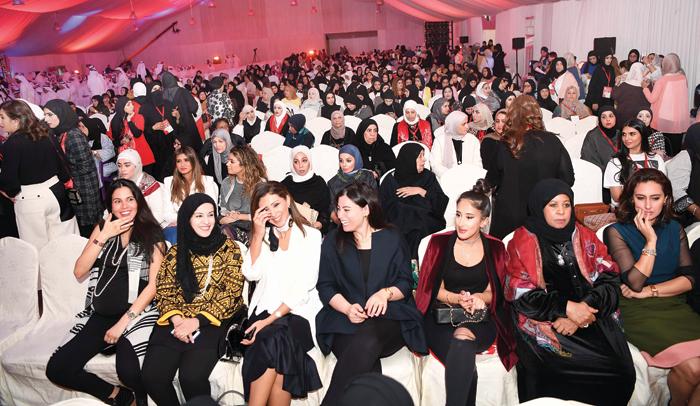 جانب من الحضور النسائي