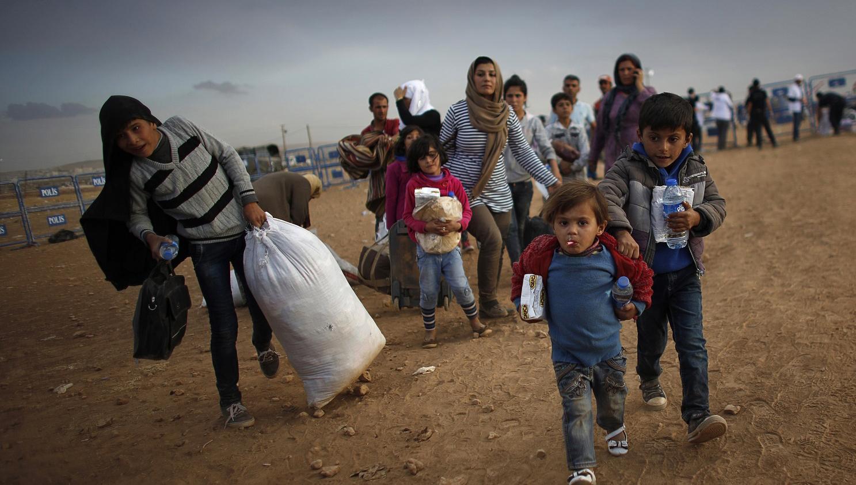 الأكراد يرحلون مئات العراقيين العرب من كركوك