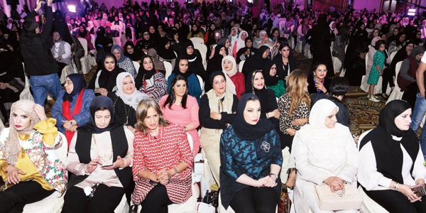 جانب من الحضور - تصوير احمد سرور