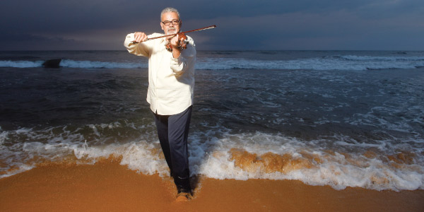 ألفريد جميل.. مبدع في الكمنجة والتأليف الموسيقي
