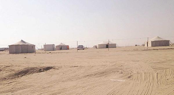 إزالة 175 مخيماً ربيعياً من «الأحمدي والجهراء»