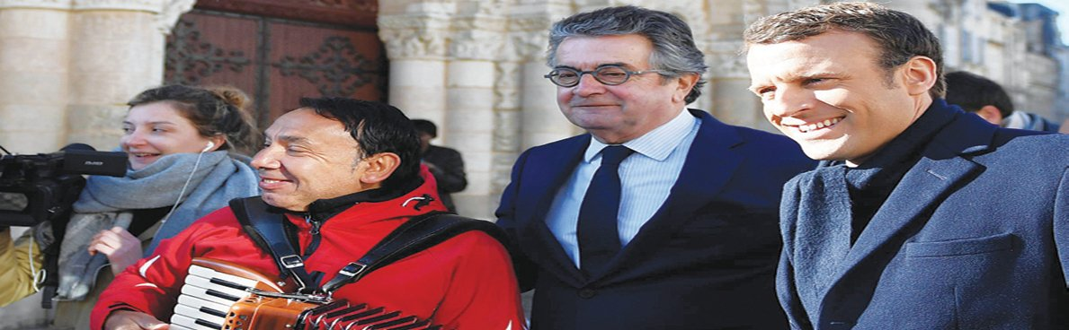 ماكرون: مع التدخل في سوريا ضد الأسد