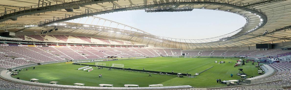 قطر تكشف أول ملاعب المونديال