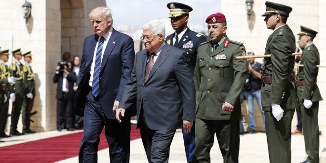 ترامب يصل الى بيت لحم لاجراء محادثات مع الرئيس الفلسطيني