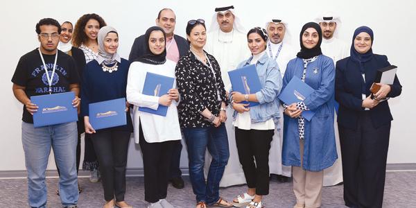 مسابقة مبارك الحمد اختتمت دورة تدريبية - القبس الإلكتروني