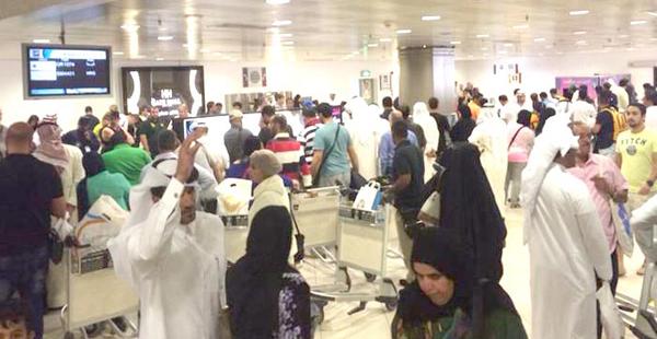 القصر والجمع بين الصلوات في المطار