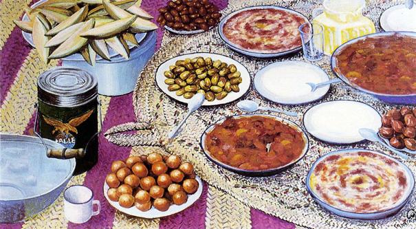 أكلات رمضان بين المعكرونة والتشريب