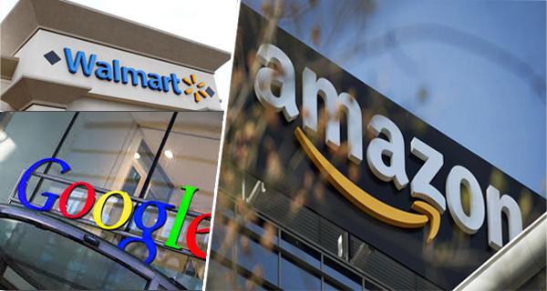 «وول مارت» و«غوغل» تتحالفان لمواجهة أمازون