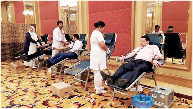 «كوبثورن الجهراء»: حملة للتبرع بالدم