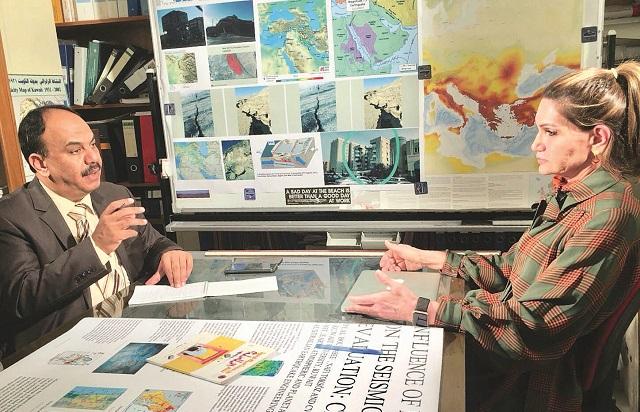 بوربيع لـ«القبس»: الكويت في مرمى زلزال مُدمّر