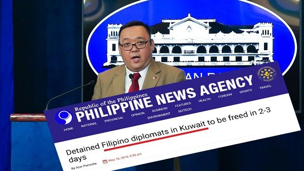 الفلبين: الكويت ستطلق الدبلوماسيين المتهمين بالاختطاف