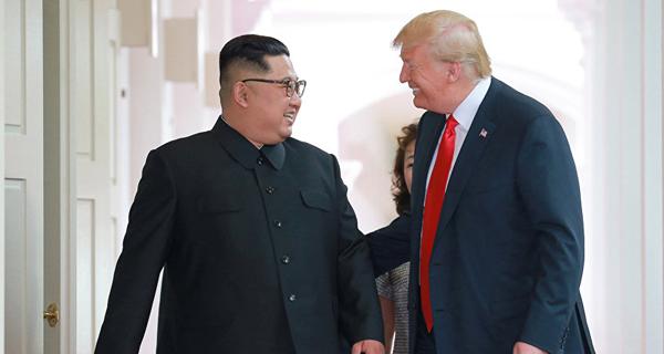 الرئيس الأميركي: قمة سنغافورةجنبت العالم كارثة نووية