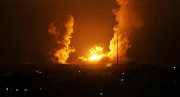 عدوان جوي اسرائيلي على موقع عسكري في مصياف وسط سوريا