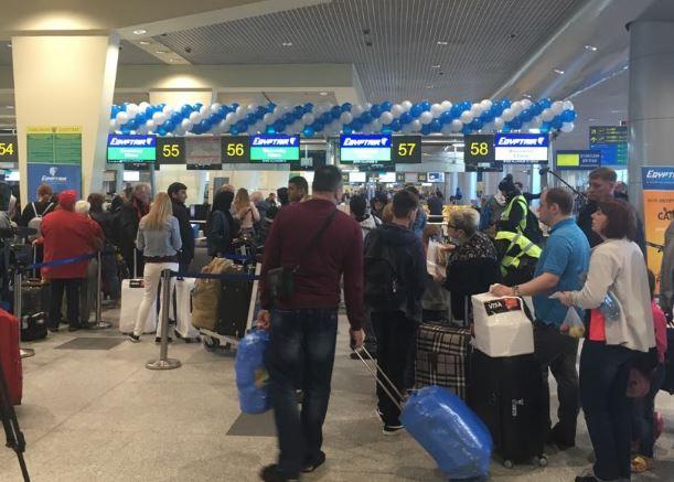 روسيا: احتجاز رجل في مطار موسكو بعد تهديد كاذب