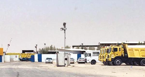 بلدية الاحمدي: 137 ألف دينار مخالفة «تشوين»