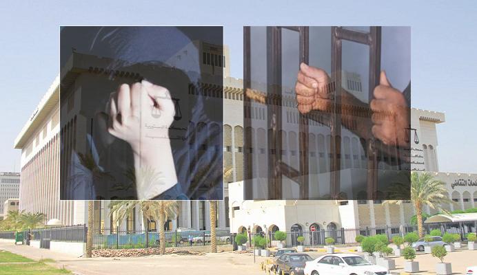 مواطنة تدافع عن زوجها الخائن في المحكمة