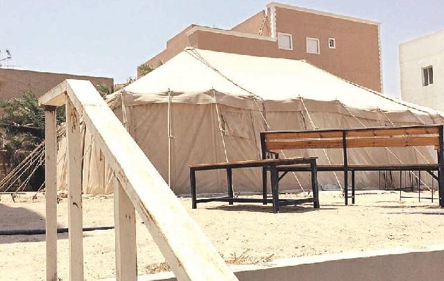 إنذار 34 تعدياً في مبارك الكبير