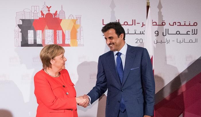 أمير قطر: سنستثمر 10 مليارات يورو في ألمانيا