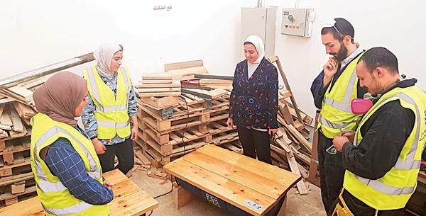 «مهندسون بلا حدود»: ممشى الجابرية صديق للبيئة