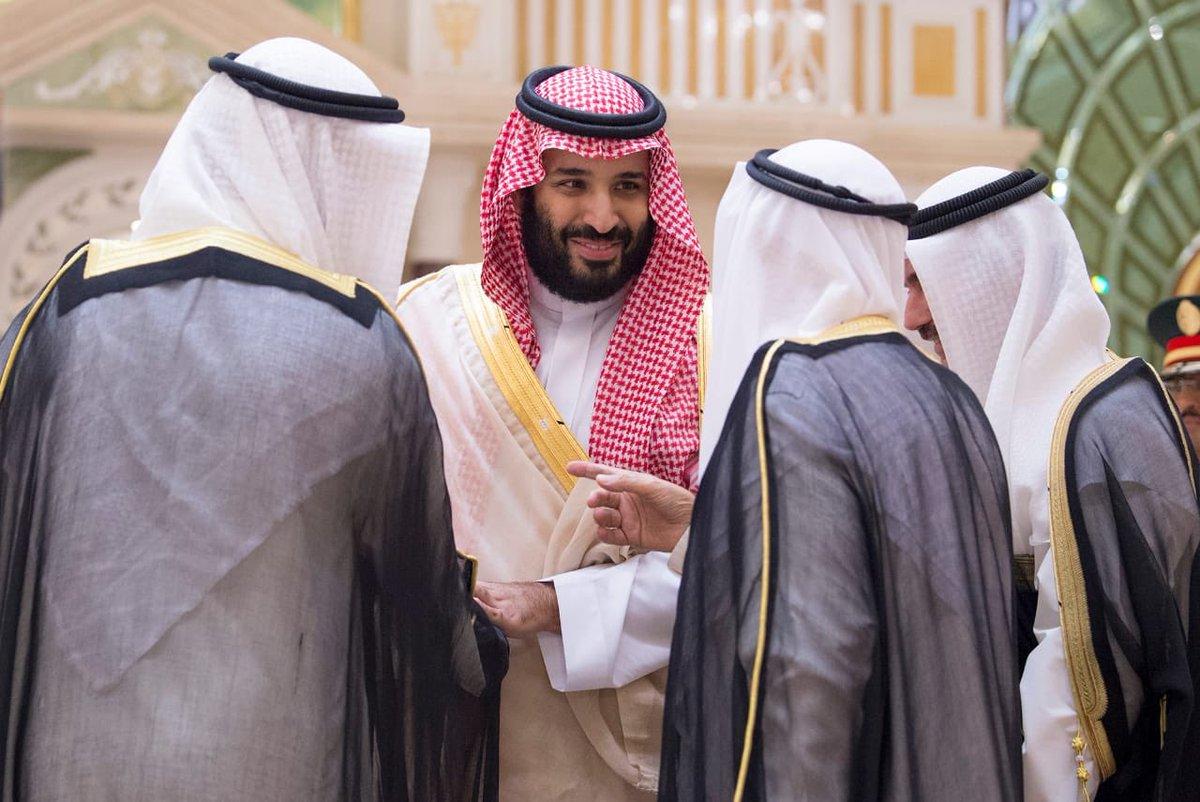 محمد بن سلمان غادر الكويت بعد زيارة رسمية النخبة