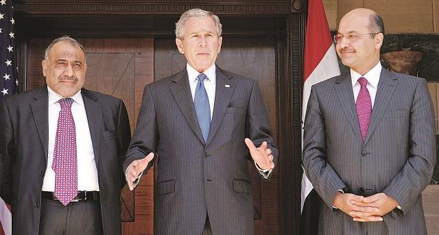 عبدالمهدي.. ميزان السياسة داخل العراق وخارجه