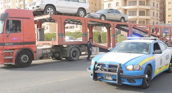 المرور»: مزاد علني لبيع المركبات المحجوزة