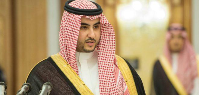 خالد بن سلمان: لم أتحدث مطلقًا مع خاشقجي هاتفيًا