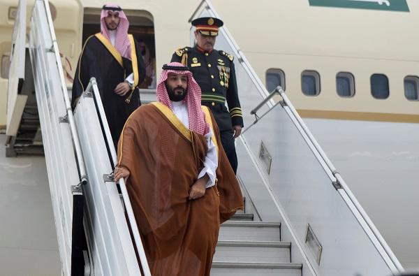 ولي العهد السعودي يصل إلى الأرجنتين لحضور قمة الـ 20
