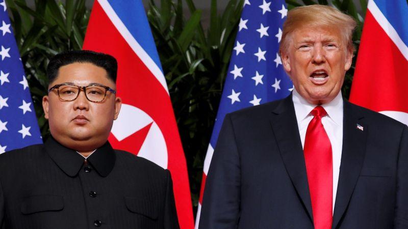 زعيم كوريا الشمالية يبعث برسالة لترامب بشأن محادثات النووي