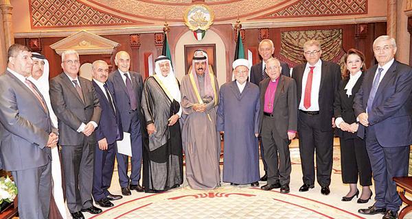ولي العهد: الكويت لم تتأخر يوماً  عن دعم فلسطين