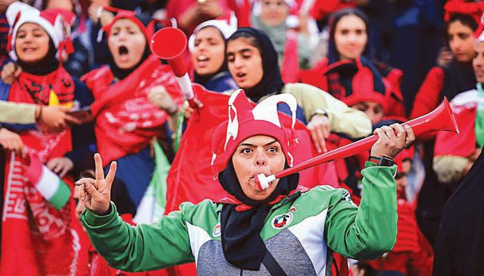 منتخب إيران النسائي في آزادي