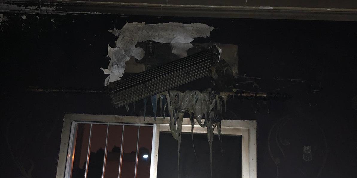 إنقاذ أسرة من حريق منزل في العارضية