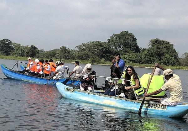 يوم ثقافي ترفيهي لوفد طالبات «كن من المتفوقين» في سريلانكا