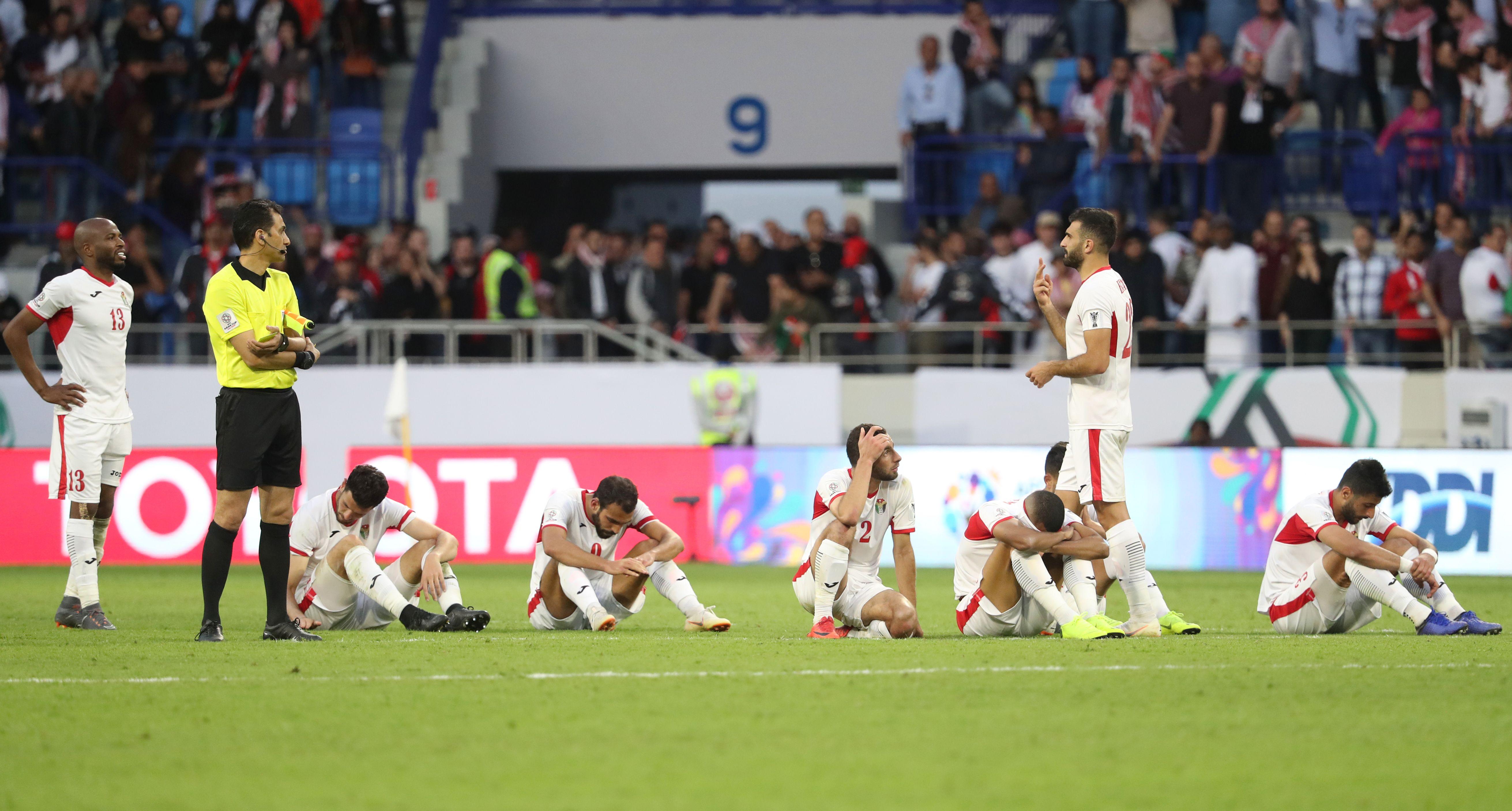 الأردن يودع كأس آسيا 2019