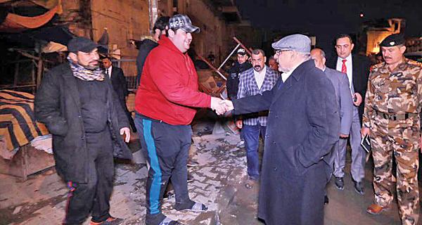 شارع «الرشيد» في بغداد يعود  إلى الحياة