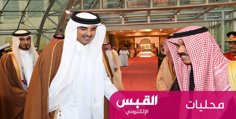 أمير قطر يغادر الكويت بعد زيارة رسمية