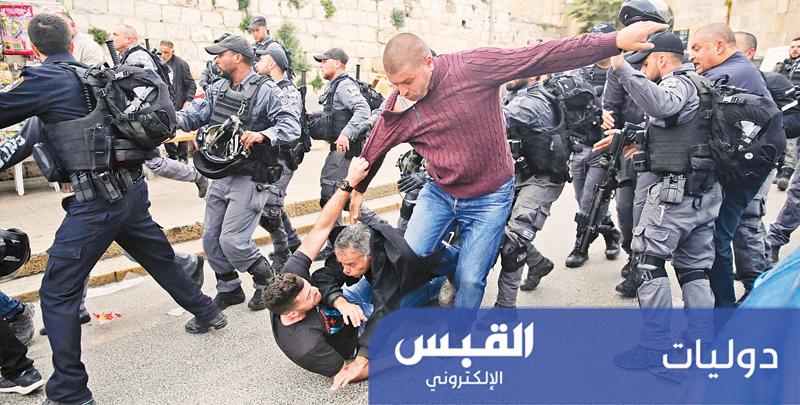 القوات الإسرائيلية تغلق المسجد الأقصى.. وتطرد المصلين