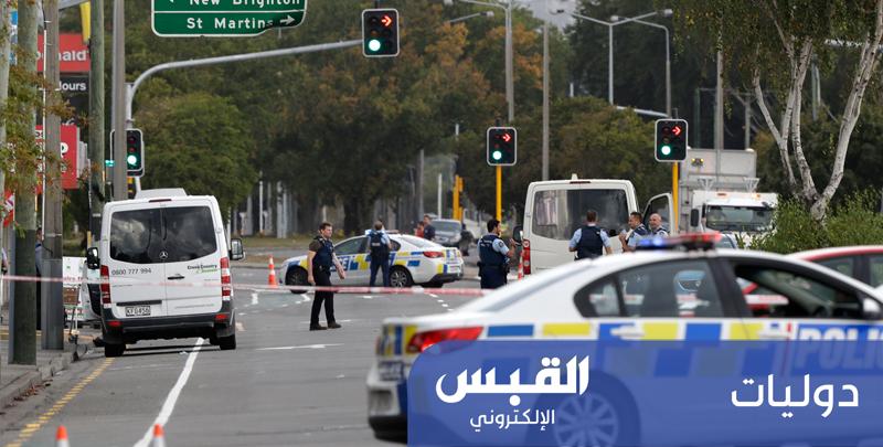 إطلاق أعيرة نارية في محيط مسجد بنيوزيلندا