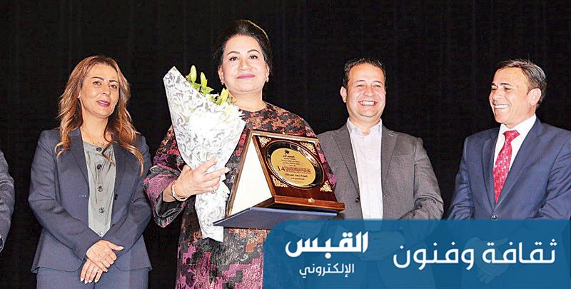 تكريم أردني للفنانة سعاد عبدالله