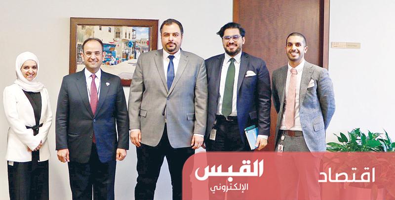 الحجرف يلتقي الكويتيين العاملين في البنك الدولي