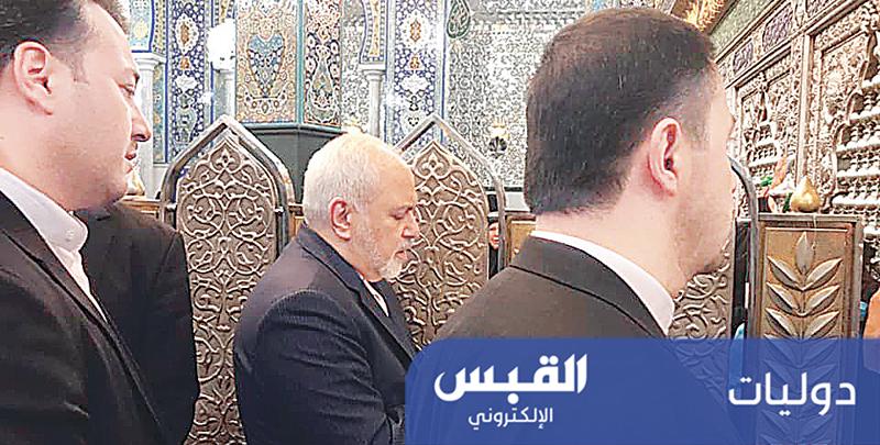 ظريف زار «السيدة زينب».. والتقى الرئيس السوري
